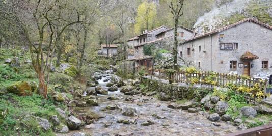 El barrio de La Villa de Bulnes
