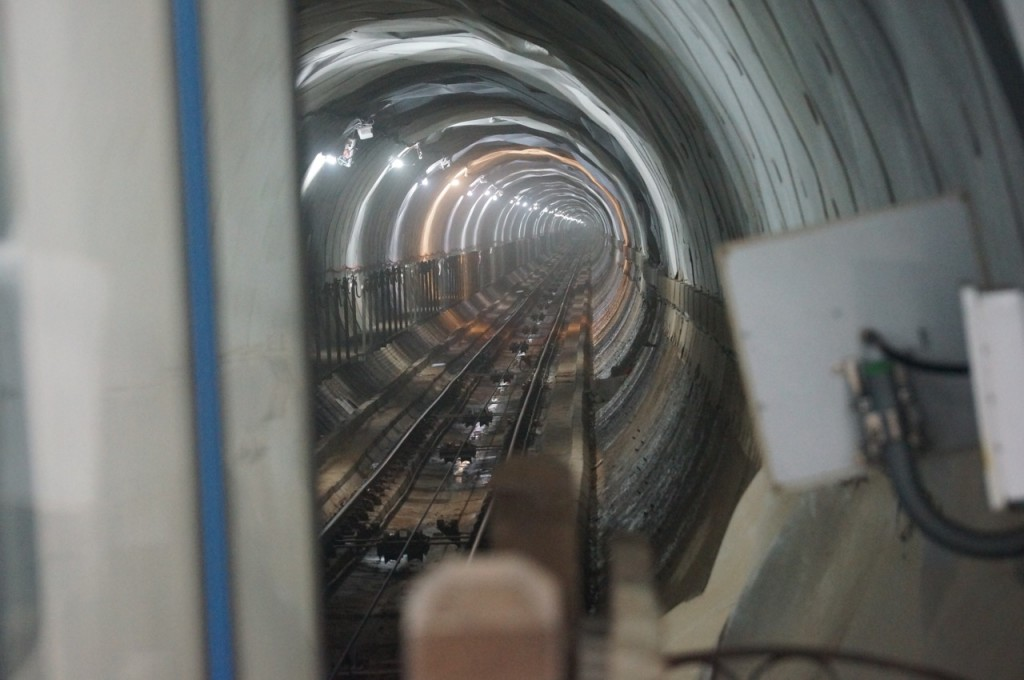 Tunel del funicular de Bulnes